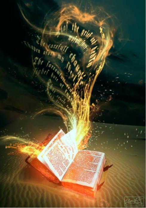 Magic in a book
